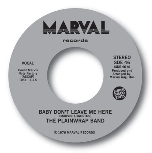 "Plainwrap Band/BABY DON'T LEAVE ME... 7"""