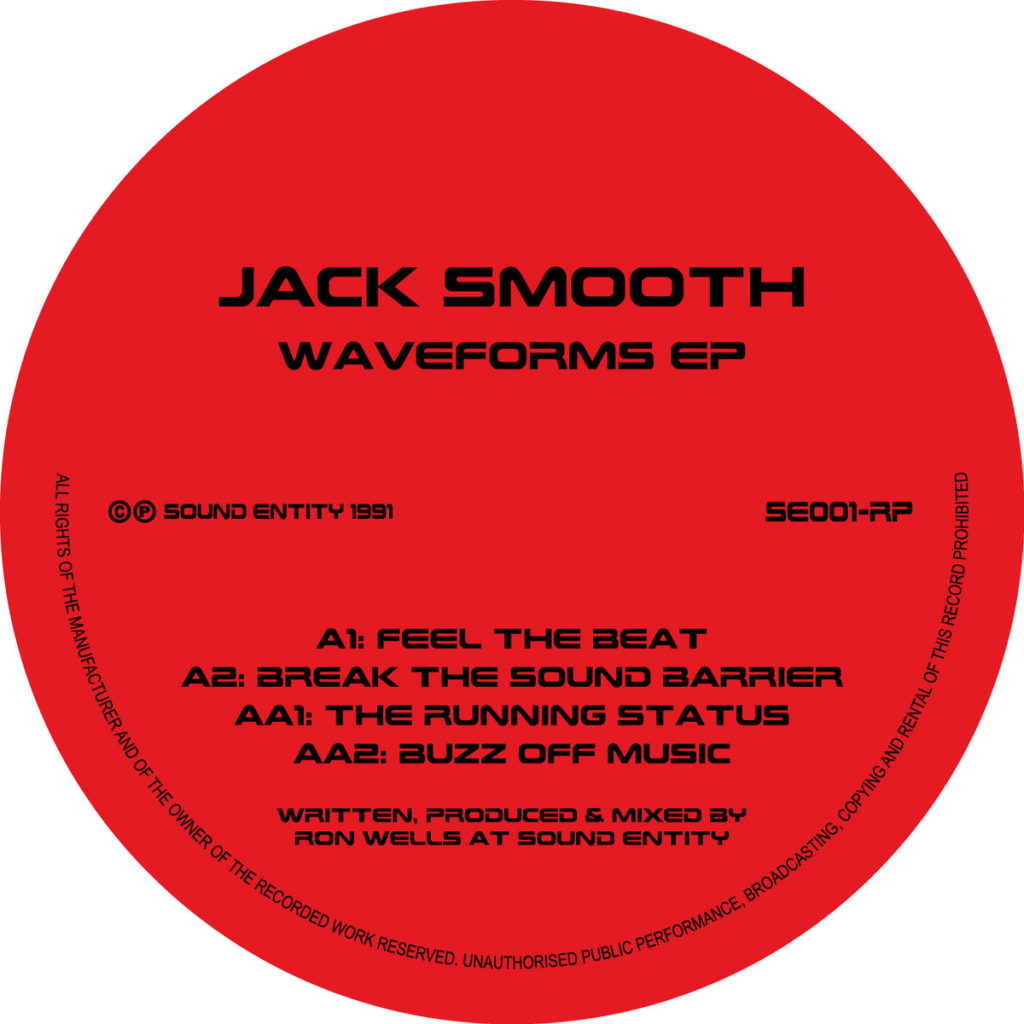 Jack Smooth/WAVEFORMS EP 12""