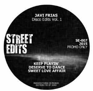 Javi Frias/DISCO EDITS VOL. 1 12""