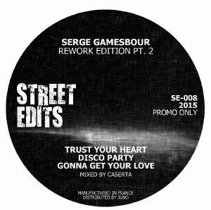"Serge Gamesbourg/REWORK EDITION PT2 12"""