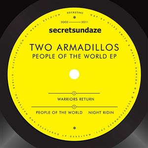 """Two Armadillos/PEOPLE OF THE WORLD 12"""""""