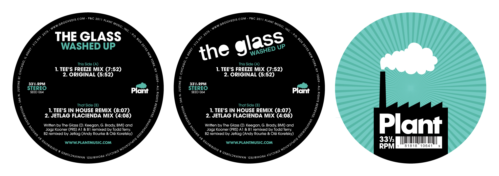 Glass, The/WASHED UP EP 12""
