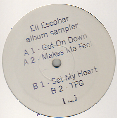 "Eli Escobar/ALBUM SAMPLER EP 12"""