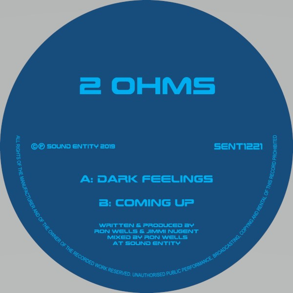 2 Ohms/DARK FEELINGS 12""