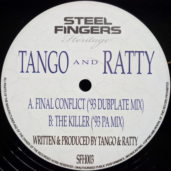 Tango & Ratty/FINAL CONFLICT '93 12""