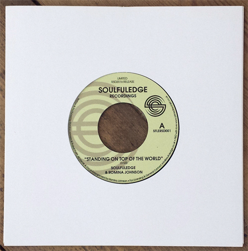 Soulfuledge & Romina Johnson/STANDING 7""