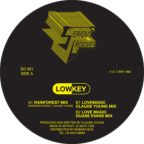Lowkey/RAINFOREST 12""