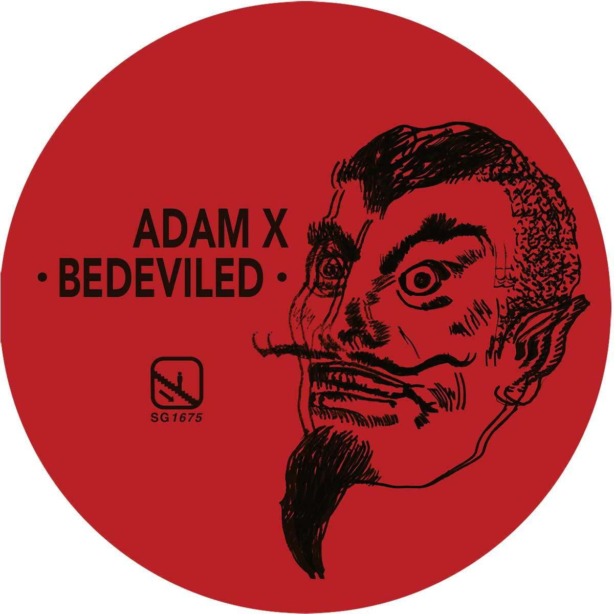 Adam X/BEDEVILED EP 12""