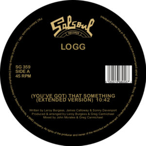 Logg/THAT SOMETHING (EXTENDED VERS) 12""