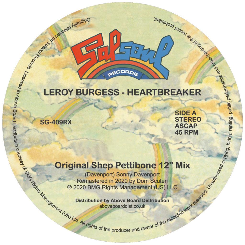 """Leroy Burgess/HEARTBREAKER-MOPLEN RX 12"""""""