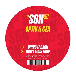Optiv & CZA/BRING IT BACK 12""