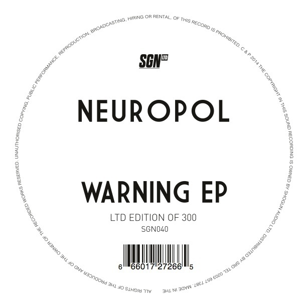 Neuropol/WARNING EP 12""