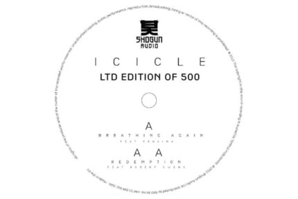 Icicle/BREATHING AGAIN 10""