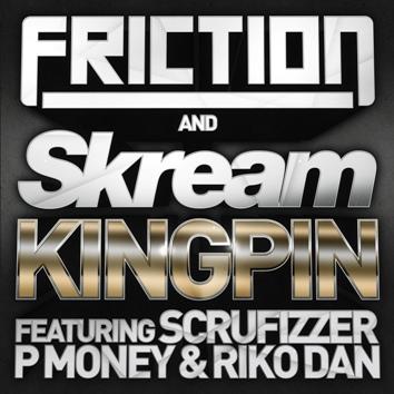 """Friction & Skream/KINGPIN 12"""""""