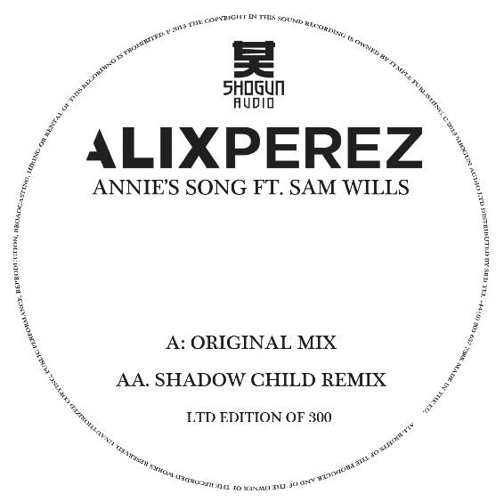 "Alix Perez/ANNIE'S SONG (ORIGINAL) 10"""