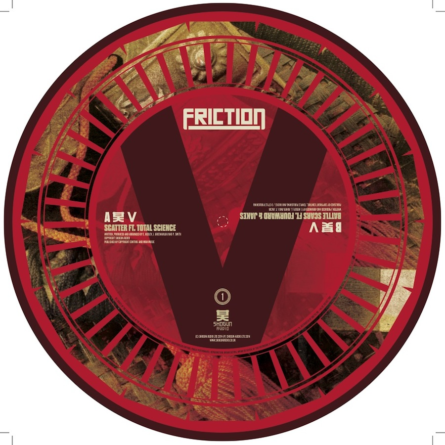 Friction/VS VOL. 1 (PIC DISC) 12""