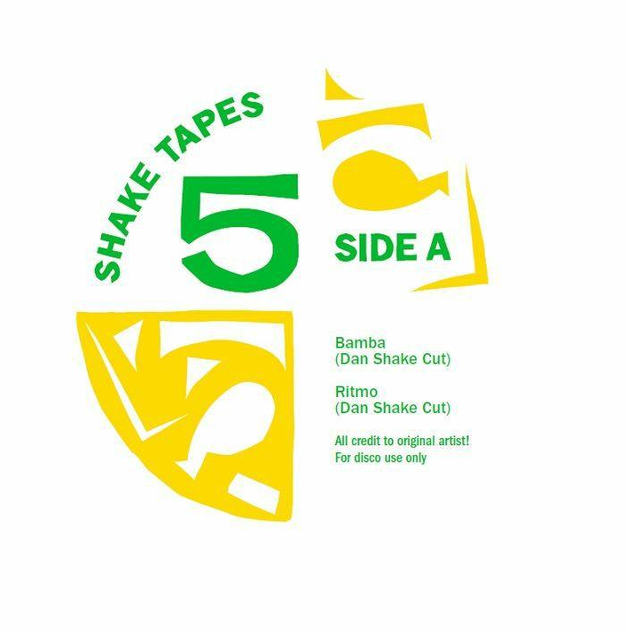 """Dan Shake/SHAKE TAPES VOL 5 12"""""""