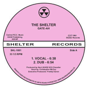 Gate-Ah (Kerri Chandler)/THE SHELTER 12""