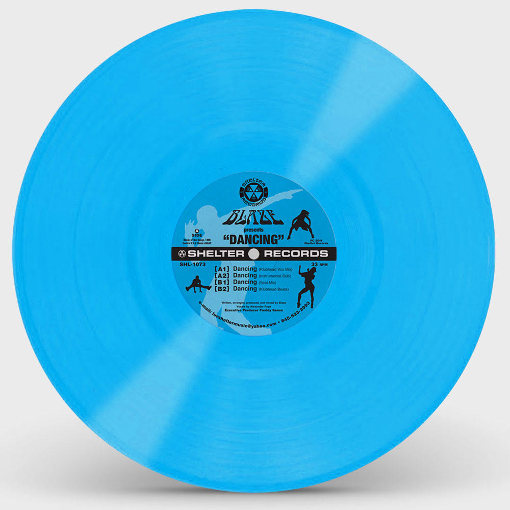 """Blaze/DANCIN' (BLUE VINYL) 12"""""""