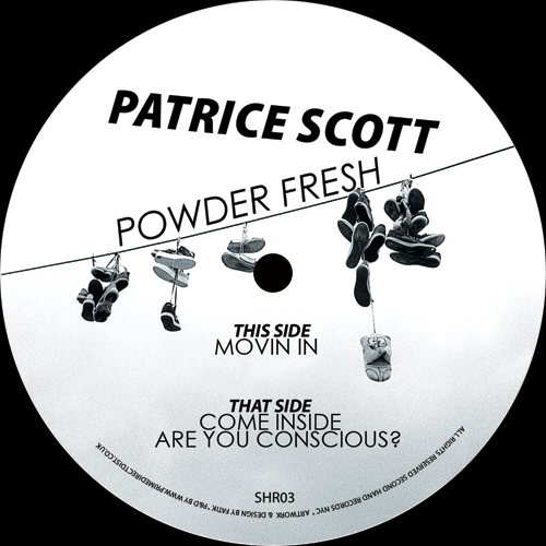 """Patrice Scott/POWDER FRESH EP 12"""""""
