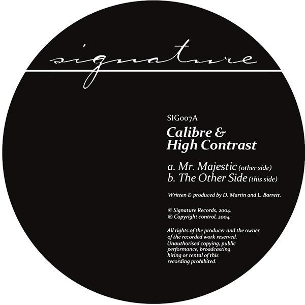 Calibre & High Contrast/MR. MAJESTIC 12""