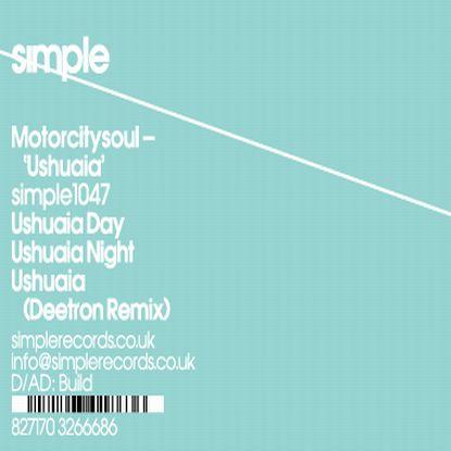 """Motorcitysoul/USHUAIA EP - DEETRON 12"""""""