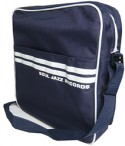 "Soul Jazz 12"" Record Bag/NAVY BLUE"