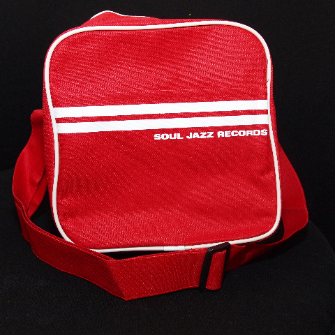 "Soul Jazz 12"" Record Bag/RED"