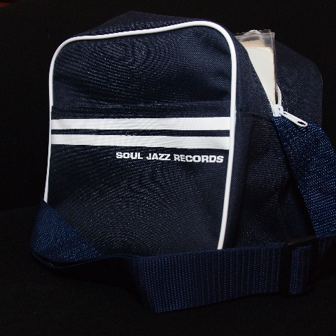 "Soul Jazz 7"" Record Bag/NAVY BLUE"