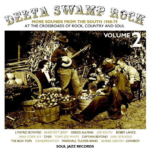 Various/DELTA SWAMP ROCK VOL.2 CD