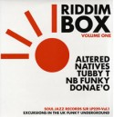 Various/RIDDIM BOX PT 1 (UK FUNKY) DLP