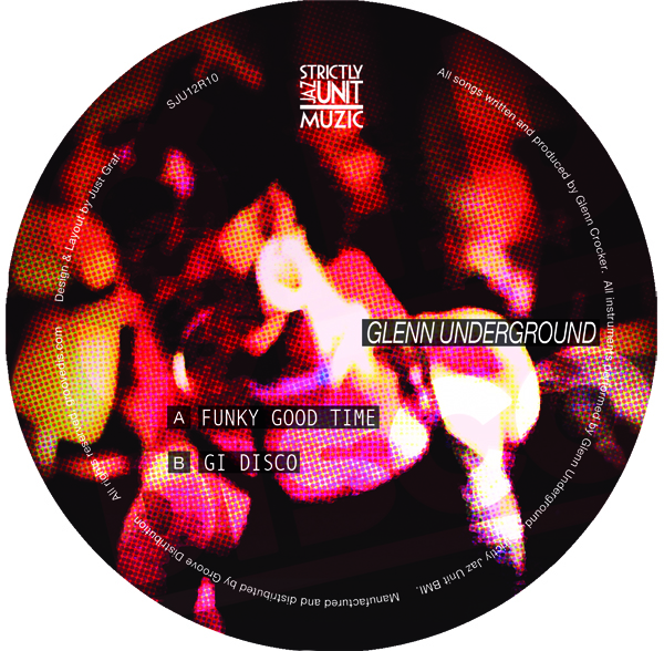 Glenn Underground/FUNKY GOOD TIME 12""