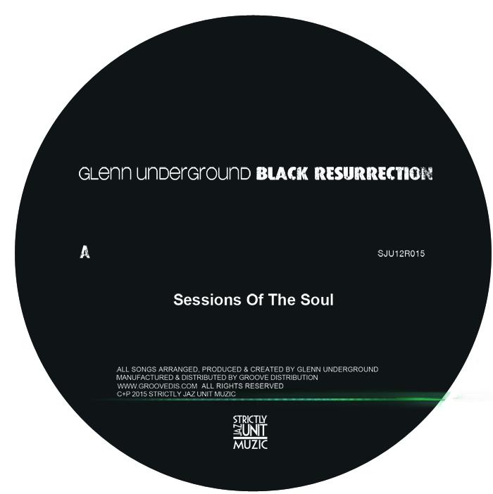 "Glenn Underground/BLACK RES EP #1 12"""