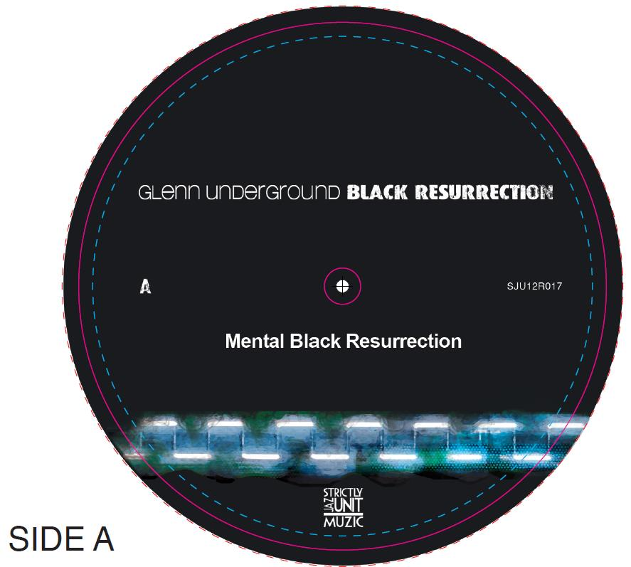 "Glenn Underground/BLACK RES EP #3 12"""