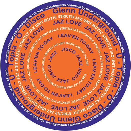 """Glenn Underground/U-TOPIA-O-DISCO EP 12"""""""