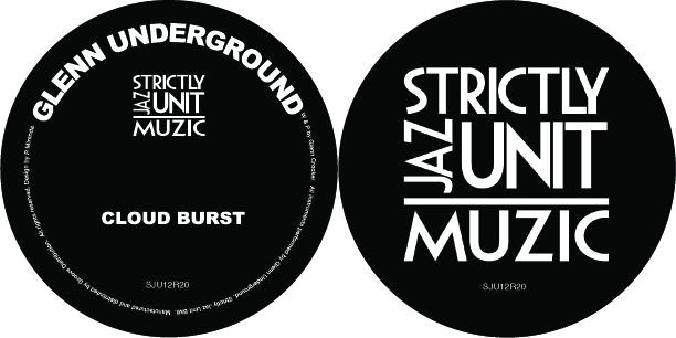 "Glenn Underground/CLOUD BURST 12"""
