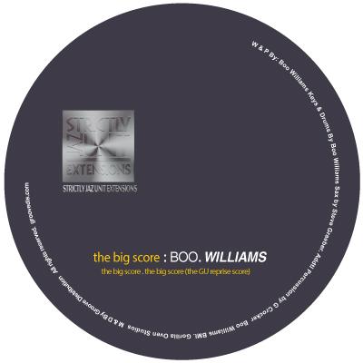 """Boo Williams/THE BIG SCORE 12"""""""