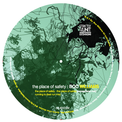 Boo Williams/PLACE OF SAFETY EP 12""