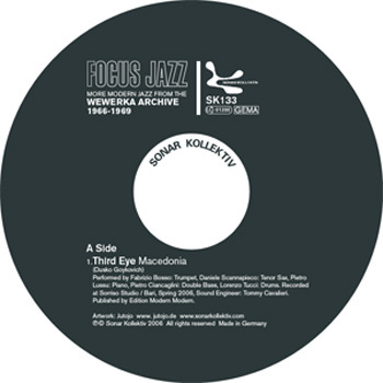 Various/FOCUS JAZZ SAMPLER 12""
