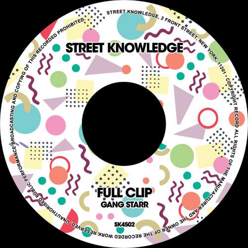 """Gang Starr/FULL CLIP 7"""""""