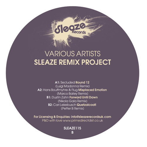 Various/SLEAZE REMIX PROJECT 12""