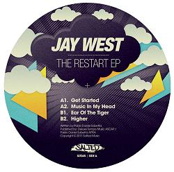 "Jay West/THE RESTART EP 12"""