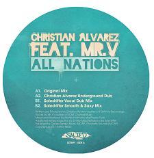 "Christian Alvarez/ALL NATIONS - MR.V 12"""