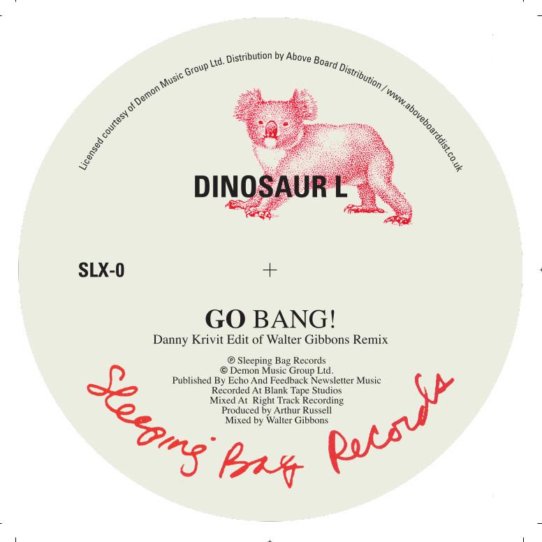 """Dinosaur L/GO BANG! (D KRIVIT EDIT) 12"""""""