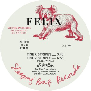Felix/TIGER STRIPES 12""