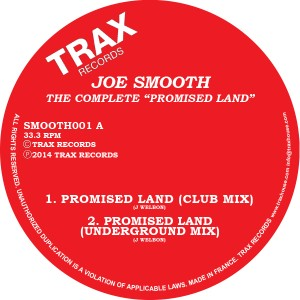 Joe Smooth/THE COMPLETE PROMISE LAND 12""