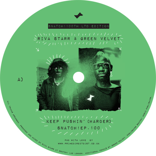 Riva Starr & Green Velvet/KEEP... 12""