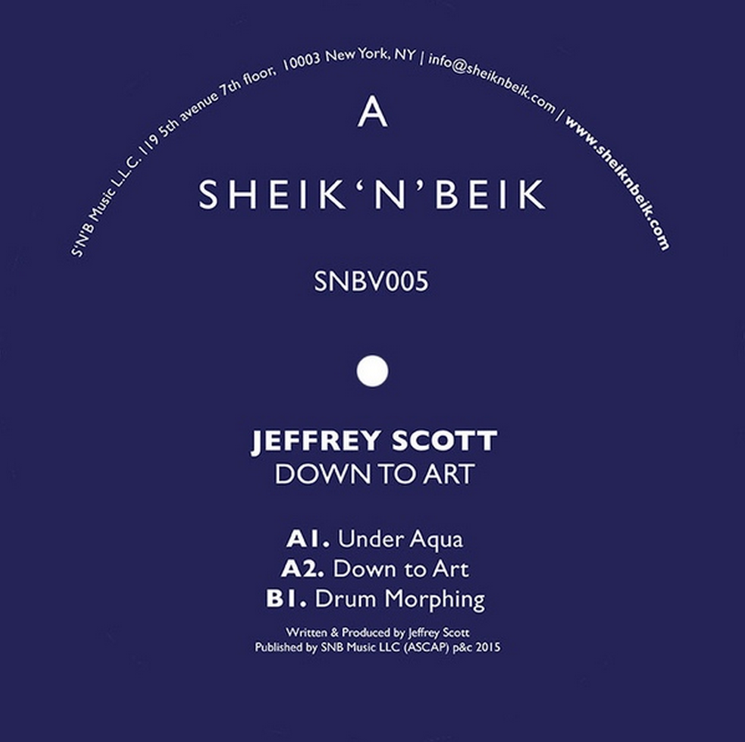 Jeffrey Scott/DOWN TO ART EP 12""