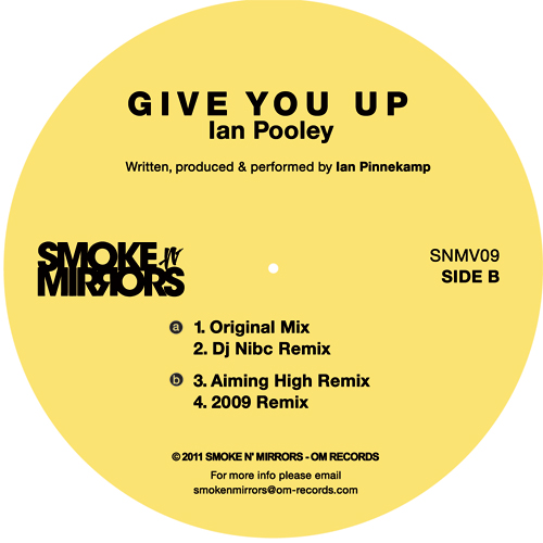 Ian Pooley/GIVE YOU UP 12""
