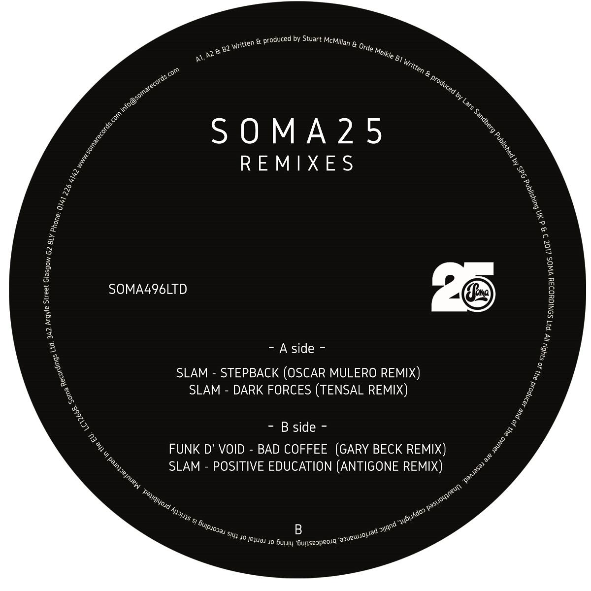 Various/SOMA 25: REMIXES 12""